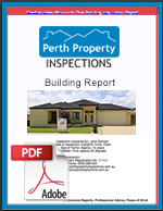 Perth Building Inspections Sample Report