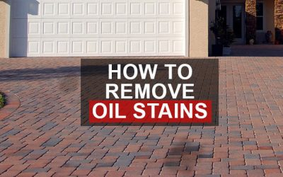 How to remove oil stains from Drive ways