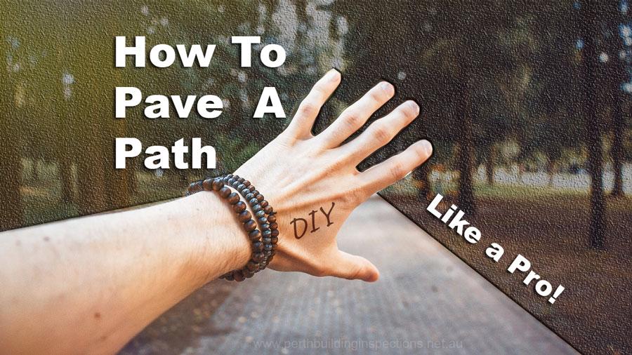 Pave a Path diy