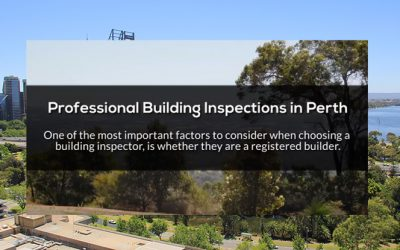 Inspections By a Registered Builder